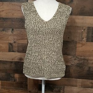 Jones New York sleeveless sweater Large